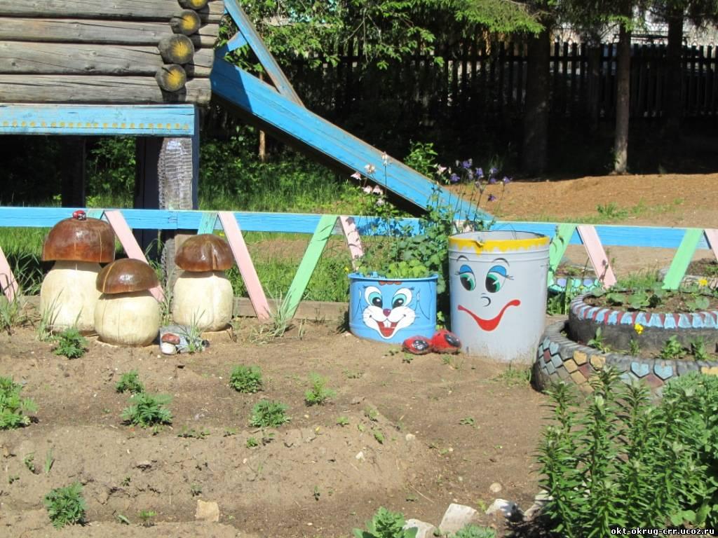 Поделки на детскую площадку в д сад фото
